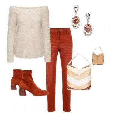 Outfit Tocchi di arancio per te