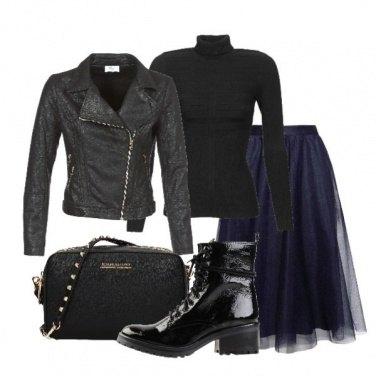 Outfit Rock si, ma romantica