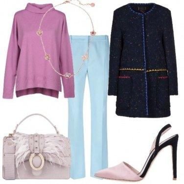 Outfit Colori tenui anche d'inverno
