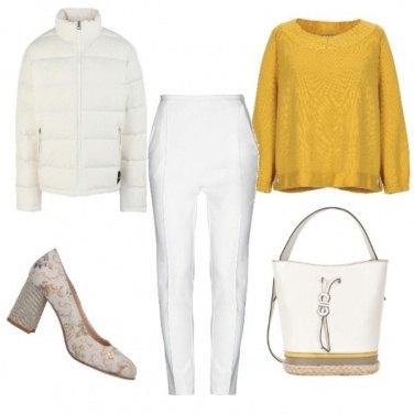 Outfit Precedenza al bianco...