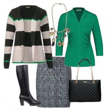 Outfit Verde Scozia