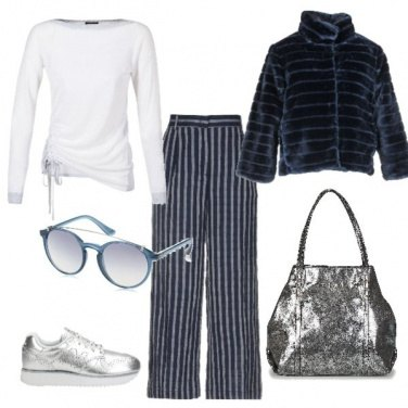 Outfit Urban silver