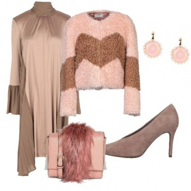 Outfit Feste in rosa