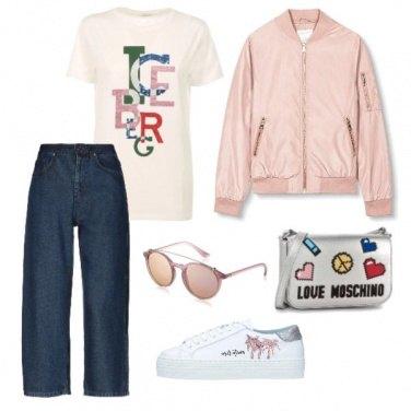 Outfit Passeggiata glam