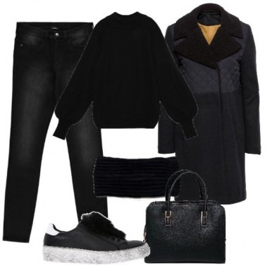 Outfit Black low cost