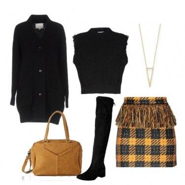 Outfit Tweed invernale