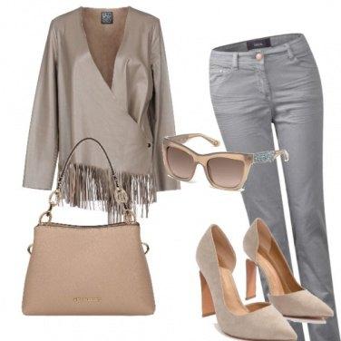 Outfit Chic la domenica mattina