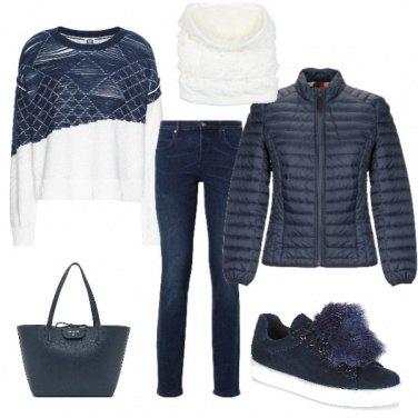 Outfit Sneaker per l\'inverno