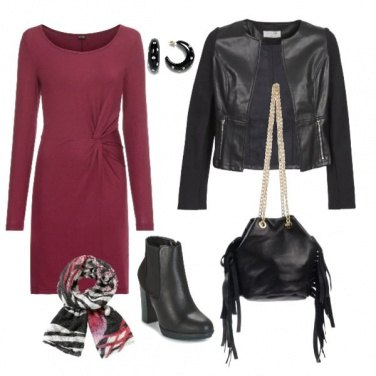 Outfit Total leather