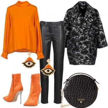 Outfit Occhio all'arancione!