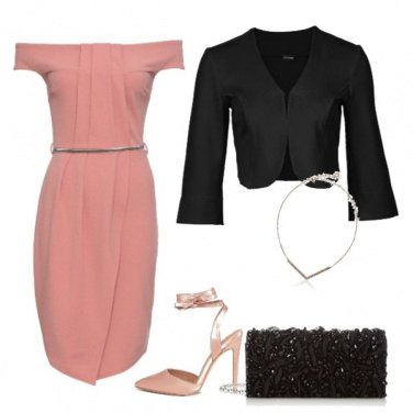 Outfit Notte rosa