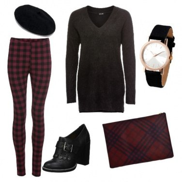 Outfit British, comfy, trendy!