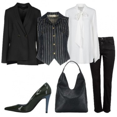 Outfit Mannish non solo in ufficio