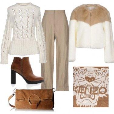 Outfit Ecofur bicolor