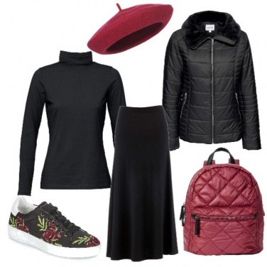 Outfit Rose d\' inverno
