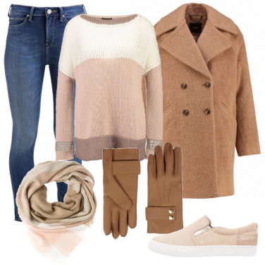 Outfit Tanti beige