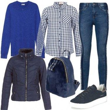 Outfit Camicia a quadretti