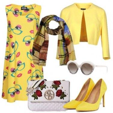 Outfit Giallo e fantasie
