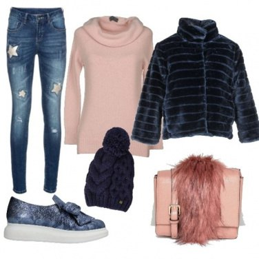 Outfit Bluefur