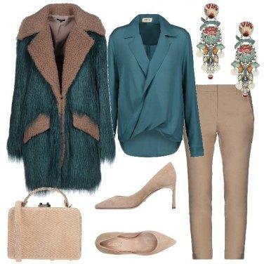 Outfit Stesso cappotto in versione chic