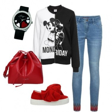 Outfit Sneakers protagonista