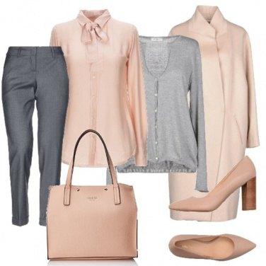 Outfit Semplicemente rosa