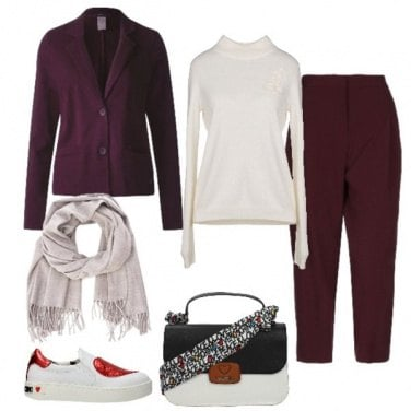 Outfit Completo e sneakers