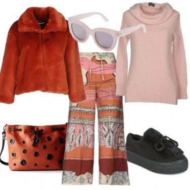 Outfit Urban orange