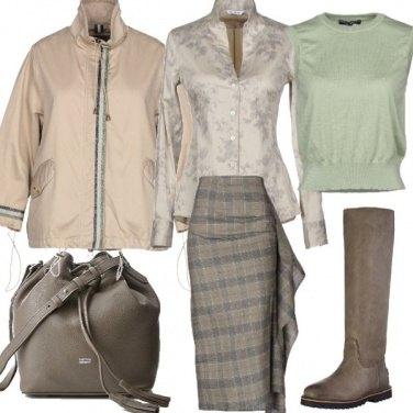 Outfit Colori caldi per il gelo invernale