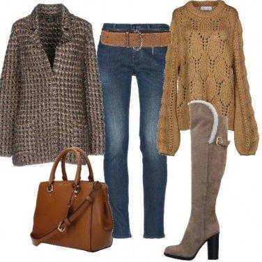 Outfit Calda lana