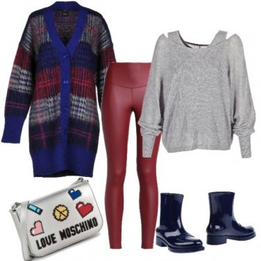 Outfit Super scozzese