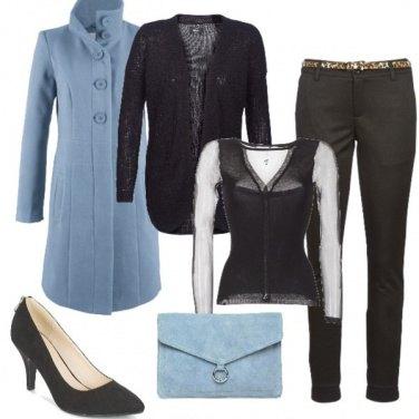 Outfit La decolleté con la zip