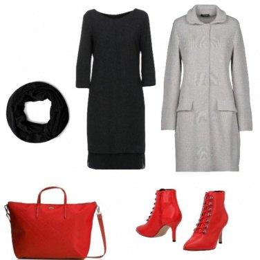 Outfit Bon Ton, il tacco rosso