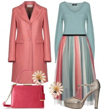 Outfit Tulle e Margherite