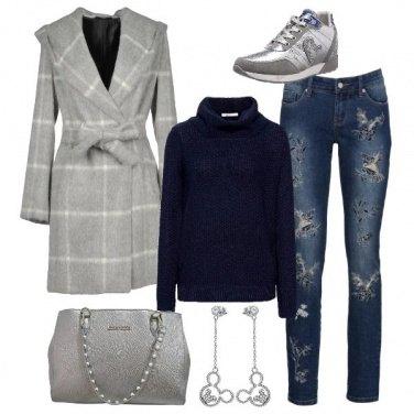 Outfit Argento in ufficio