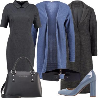 Outfit Classicamente in tubino