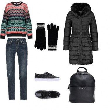 Outfit Basic, ma che freddo fa