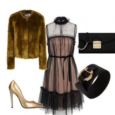 Outfit Oro che passione