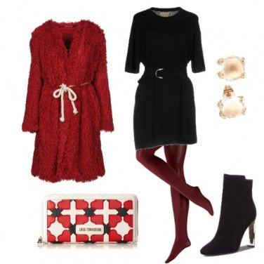 Outfit Rosso che passione!