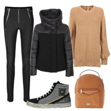 Outfit La sneakers non teme il freddo