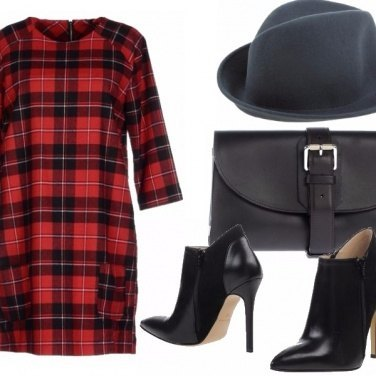 Outfit Chic tartan