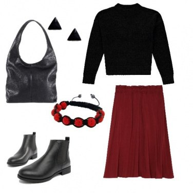 Outfit Moderna e semplice
