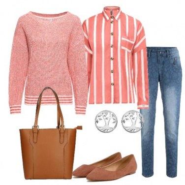 Outfit Corallo delicato