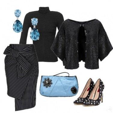 Outfit Il dettaglio azzurro