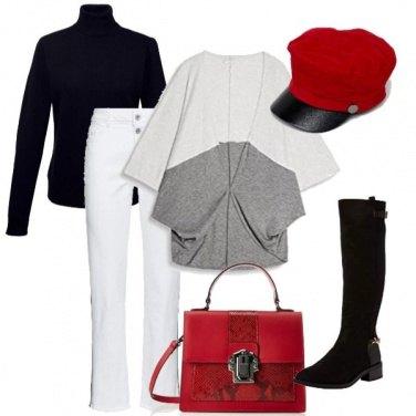 Outfit Cappello x il freddo