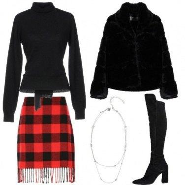 Outfit Women love tartan