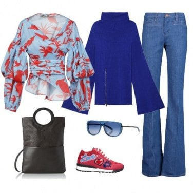 Outfit Sneakers multicolor