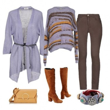 Outfit Lilla chic