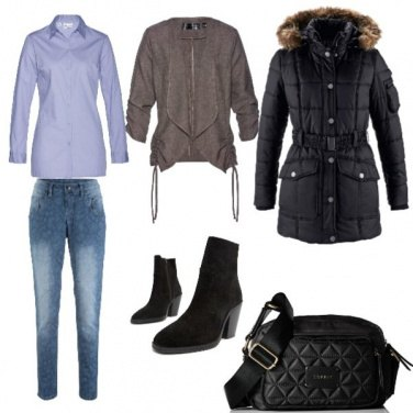Outfit Basic, comoda per la citta\' e lavoro