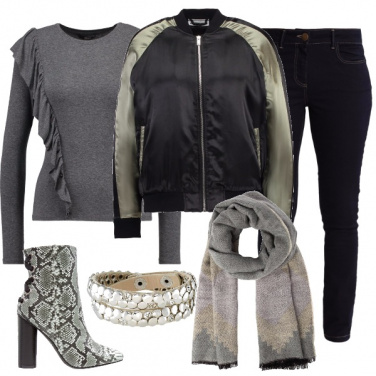 Outfit Piccole ruches